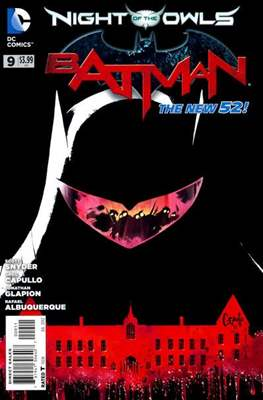 Batman Vol. 2 (2011-2016) (Saddle-stitched) #9