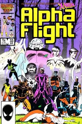Alpha Flight Vol. 1 (1983-1994) (Comic Book) #33
