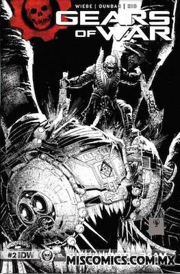 Gears of War (Portada Variante) #2.1
