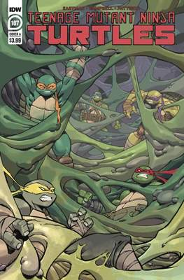 Teenage Mutant Ninja Turtles (2011-...) (Comic Book) #107