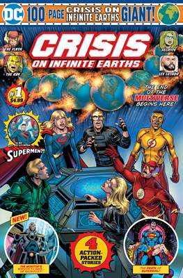 Crisis On Infinite Earths: Giant Edition (Comic Book 100 pp) #1