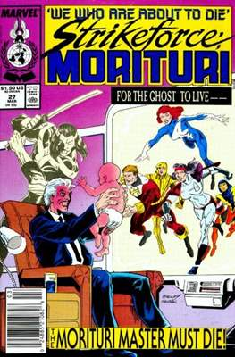 Strikeforce Morituri (Comic-book.) #27