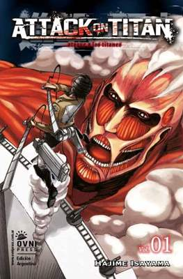 Attack on Titan (Rústica con solapas) #1