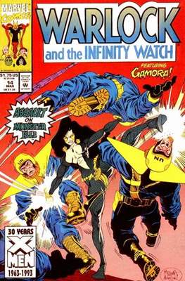 Warlock and the Infinity Watch (Comic-Book) #14