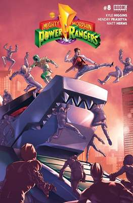 Mighty Morphin Power Rangers (Comic Book) #8
