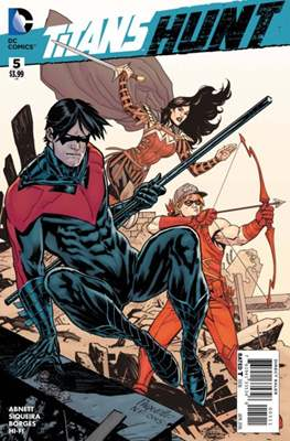 Titans Hunt Vol 1 #5
