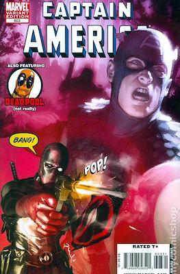 Captain America Vol. 5 (2005-2011 Variant Cover) (Comic Book) #603