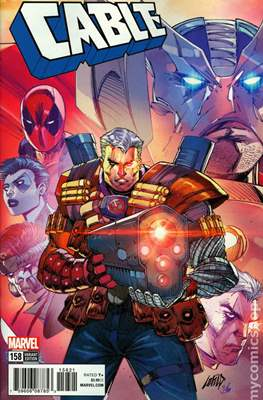 Cable (2017- Variant Covers) (Comic Book) #158