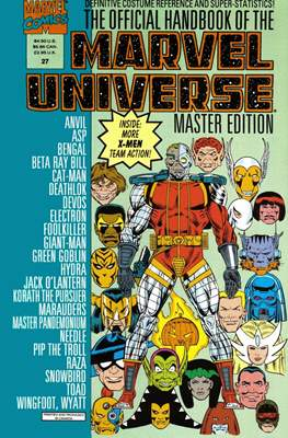 The Official Handbook of the Marvel Universe Master Edition (Softcover 48 pp) #27