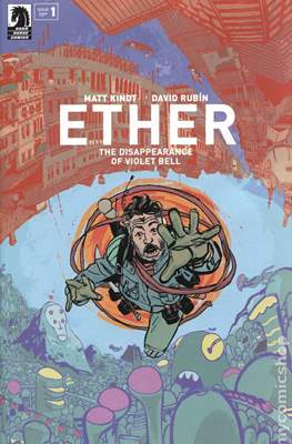 Ether: The Disappearance of Violet Bell (Variant Cover)