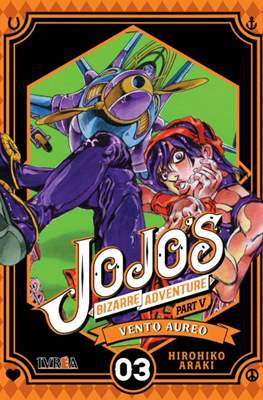 JoJo's Bizarre Adventure - Part V: Vento Aureo (Rústica con sobrecubierta) #3