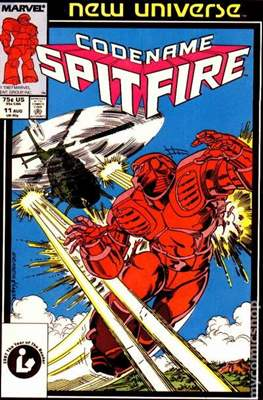 Spitfire and the Troubleshooters / Codename: Spitfire #11