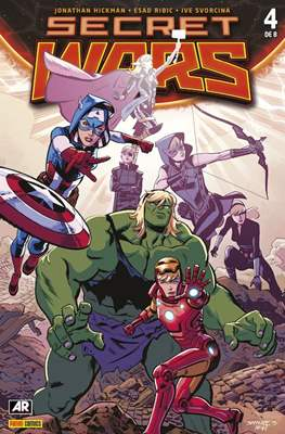 Secret Wars (2015 Portadas alternativas) (Grapa) #4