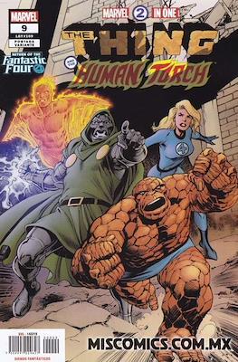 Marvel 2-In-One (2018-2019 Portada variante) (Grapa) #9