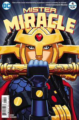 Mister Miracle (Vol. 4, 2017- 2018) #4