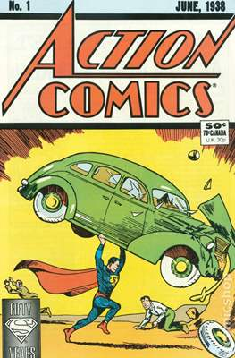 Action Comics Vol. 1 (1938-2011; 2016-... Variant Covers)