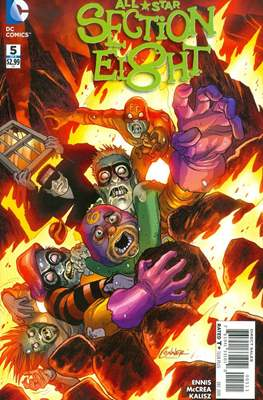 All Star Section Eight (Comic - book) #5