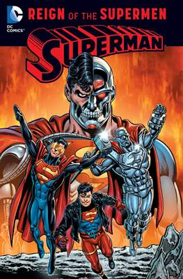 The Death and Return of Superman (Softcover. 224-376-338-480-416 pp) #3