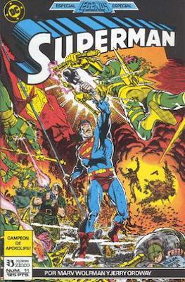 Superman: El Hombre de Acero / Superman Vol. 2 (Grapa 36 pp) #11