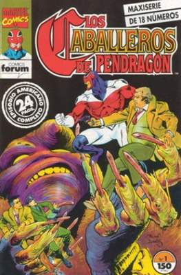 Los Caballeros de Pendragón (1992-1993) (Grapa. 17x26. 24 páginas. Color.) #1