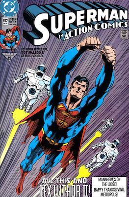 Action Comics Vol. 1 (1938-2011; 2016-) (Comic Book) #672