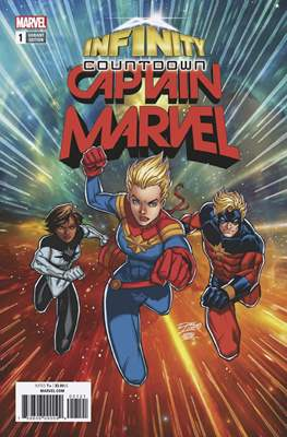 Infinity Countdown: Captain Marvel (Variant Covers) (Comic Book) #1