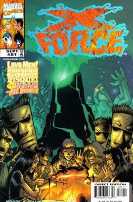 X-Force Vol. 1 (1991-2002) (Comic Book) #81