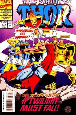 Journey into Mystery / Thor Vol 1 (Comic Book) #472