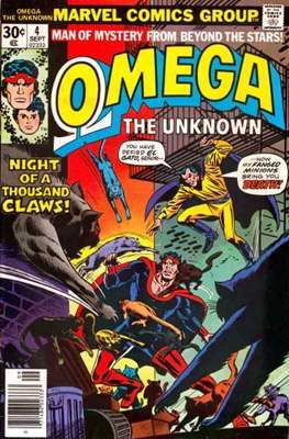 Omega The Unknown (Comic Book. 1976 - 1977) #4
