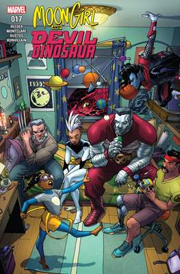 Moon Girl and Devil Dinosaur (Comic-book) #17