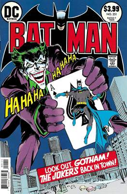 Batman Facsimile Edition (Comic Book) #251