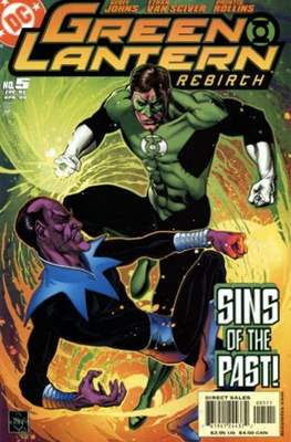 Green Lantern: Rebirth (2004-2005) (Comic-book) #5