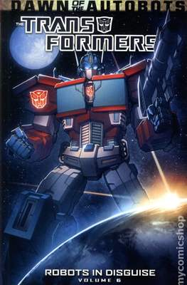 Transformers- Robots in Disguise (Softcover) #6