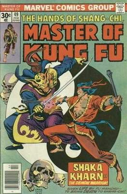 Master of Kung Fu (Comic Book. 1974 - 1983. Continued from Special Marvel Edition #16) #49