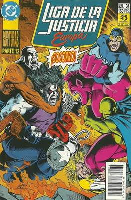 Liga de la Justicia Europa (1989-1992) (Grapa) #34