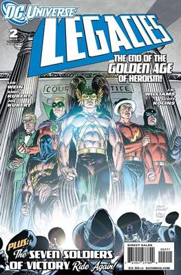 DC universe:  Legacies (Comic book) #2