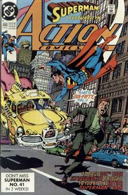 Action Comics Vol. 1 (1938-2011; 2016-) (Comic Book) #650