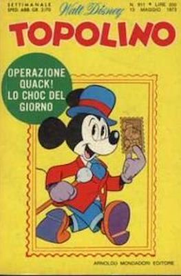 Topolino (Brossurato) #911