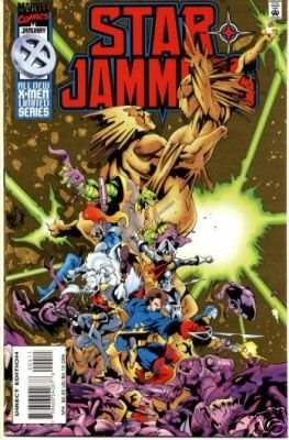 Starjammers (comic-book) #4