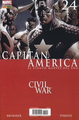 Capitán América Vol. 7 (2005-2011) (Grapa) #24