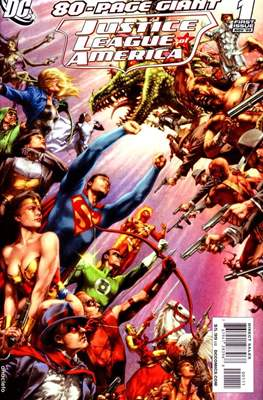 Justice League of America 80-page Giant 2009