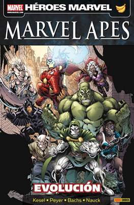 Marvel Apes. Evolución