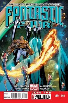 Fantastic Four Vol. 4 (Comic Book) #3