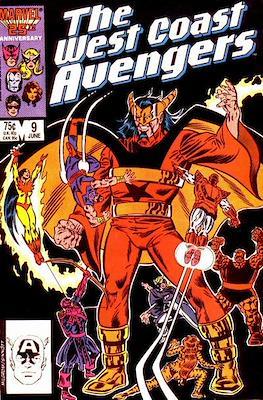 The West Coast Avengers Vol. 2 (1985 -1989) #9