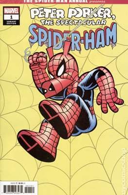 The Spider-Man Annual Presents Peter Porker The Spectacular Spider-Ham (Variant Cover) #1.2