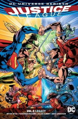 Justice League (2016-...) (Softcover) #5