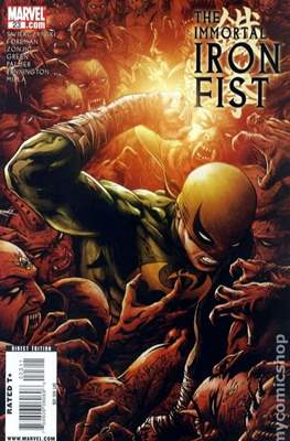 The Immortal Iron Fist (2007-2009) (Grapa) #23
