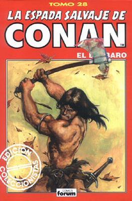 La Espada Salvaje de Conan el Bárbaro. Edición coleccionistas (Rojo) (Cartoné 192 pp) #28