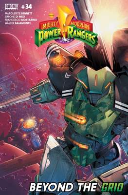 Mighty Morphin Power Rangers (Comic Book) #34