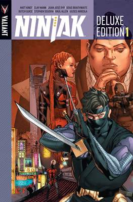 Ninjak Deluxe Edition (Hardcover) #1